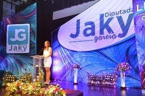 Trabajo, unidad y sensibilidad política, claves del desarrollo: Jaqueline García