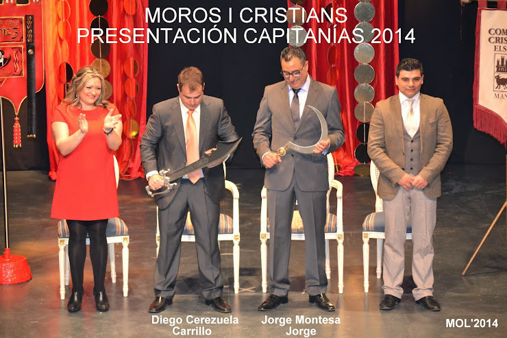 MOROS I CRISTIANS-PRESENTACIO CAPITANIES 28.03.2015