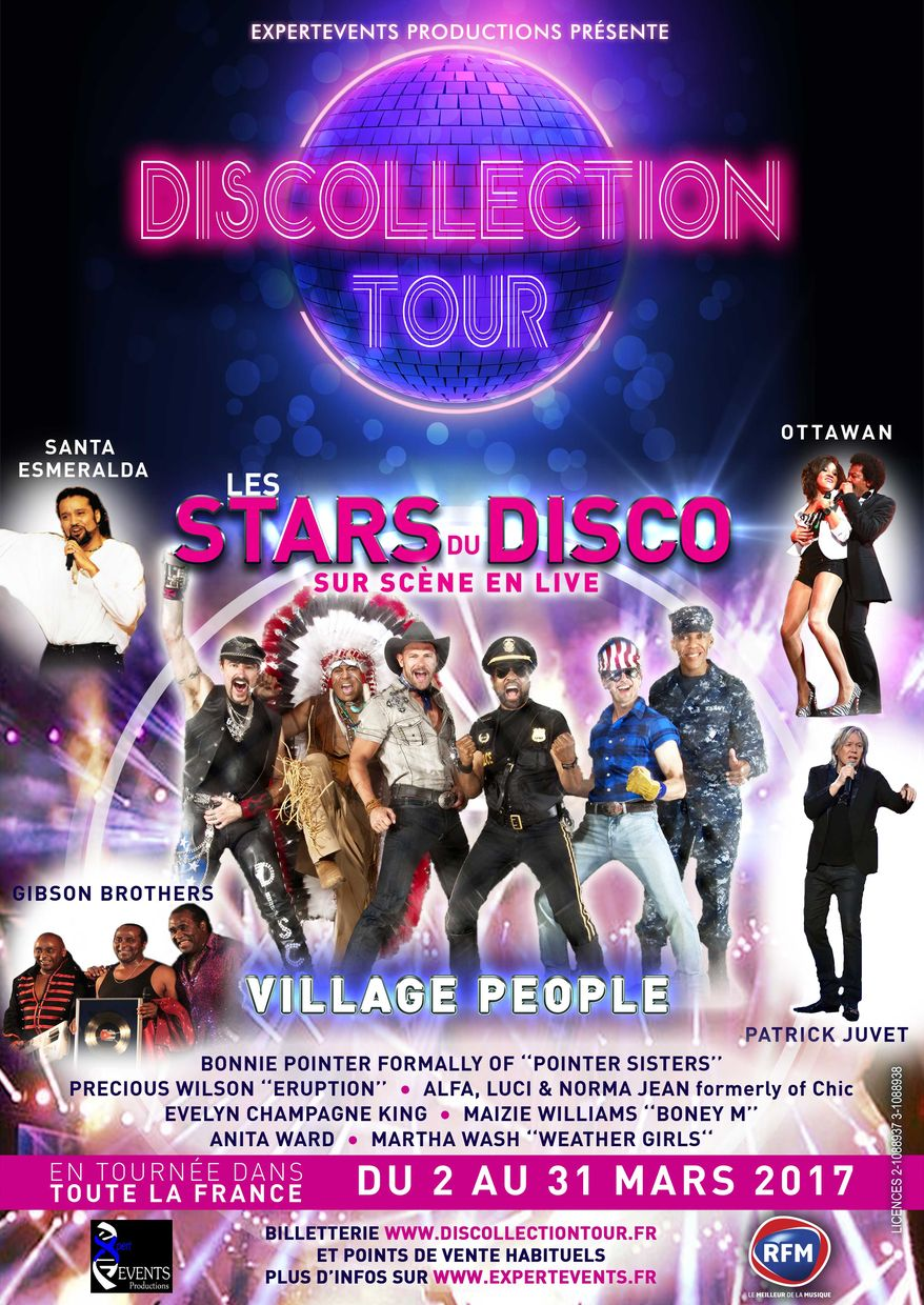 DISCOLLECTION TOUR MARS 2017