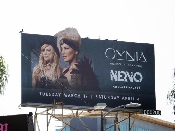 Omnia nightclub Nervo billboard