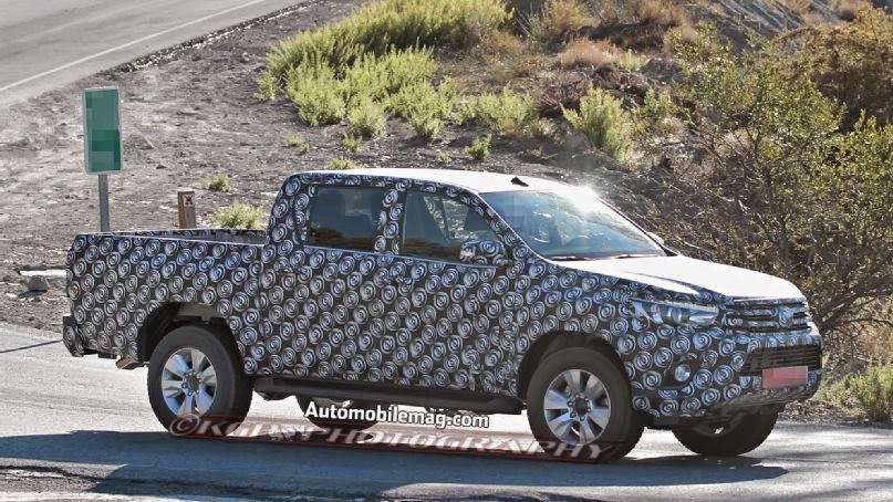 Toyota Hilux Pickup Spied, Could Preview New Toyota Tacoma