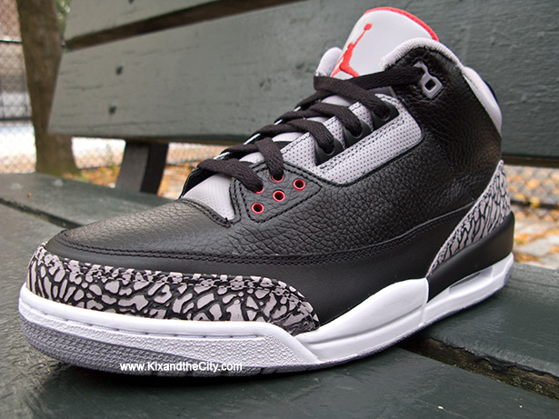 "nike 5 futsal - What Fly People Wear: Air Jordan Retro 3 ""Black Cement"" 11/25/11"