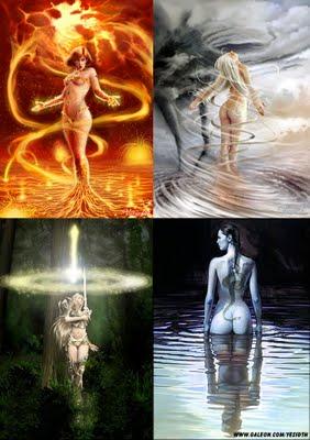 La Magia de los Elementos