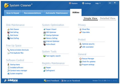 Pointstone System Cleaner v7.6.14.590