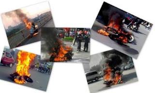 bảo hiểm xe máy cháy nổ