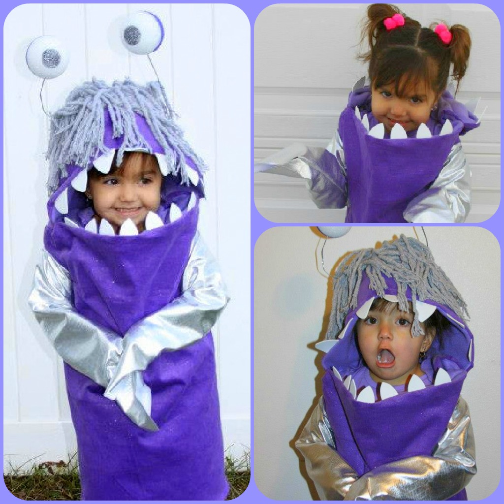 monsters inc. and boo | i gotta try that