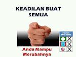 Keadilan Untuk Semua