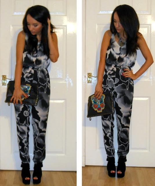 topshop jumpsuit outfit