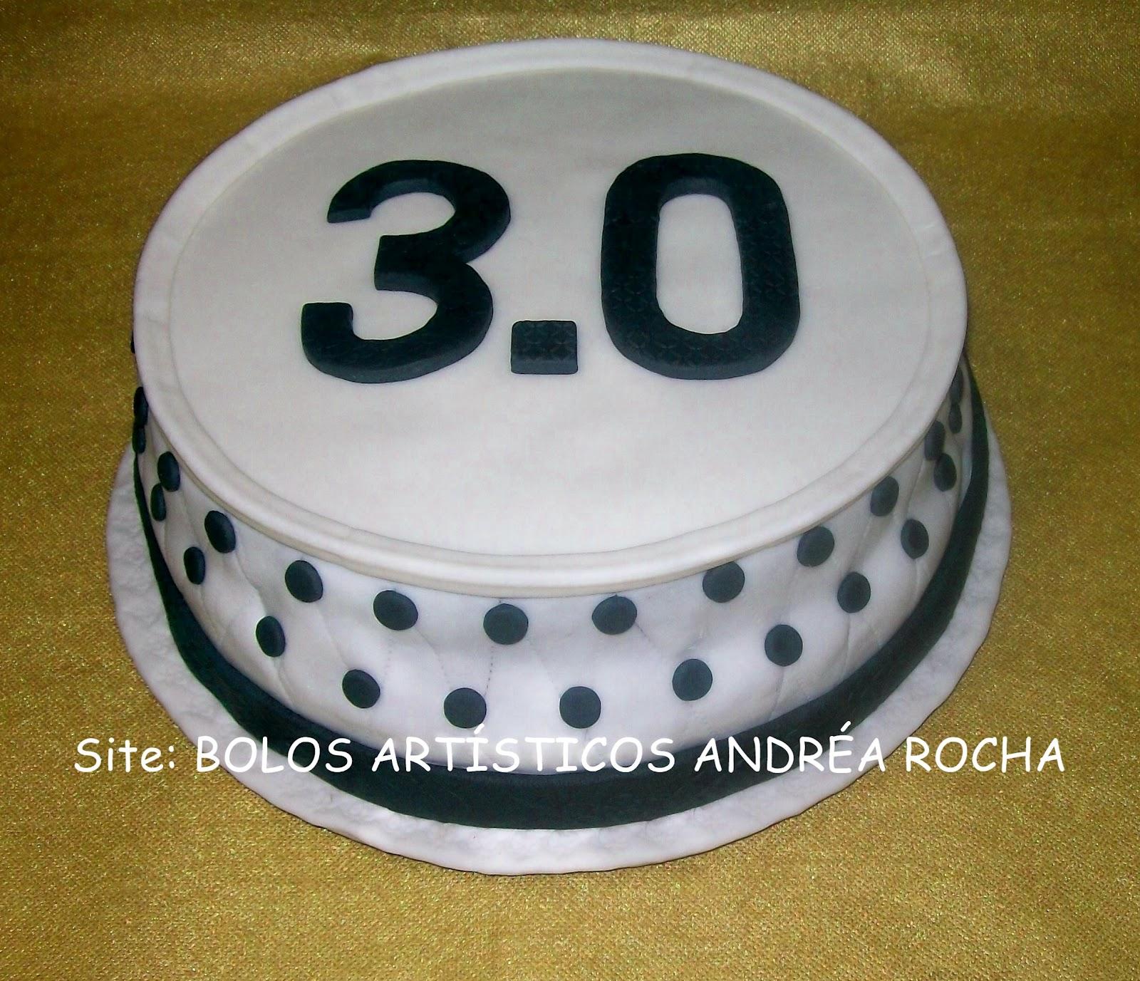 Bolos artsticos andra rocha bolos decorados porto alegre rs bolo aniversrio 30 anos altavistaventures Gallery