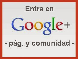 Entra en Google+ y en la comunidad