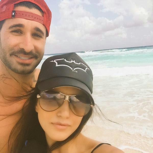 Sunny Leone with Husband