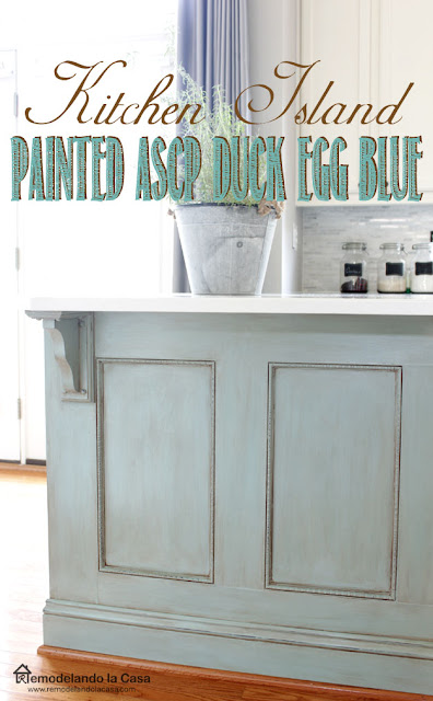 How to glaze kitchen cabinets to give them an old look.
