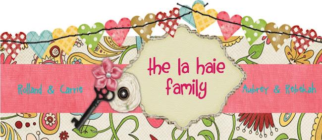 The LaHaie Family