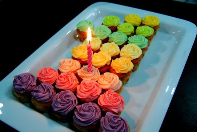 The Awesometastic Bridal Blog Cupcake Cake