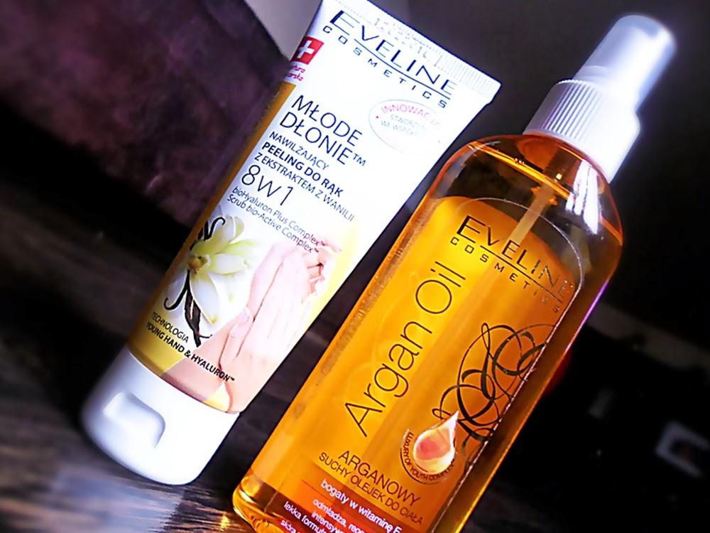Suchy olejek do ciała Eveline arganowy olejek do ciała