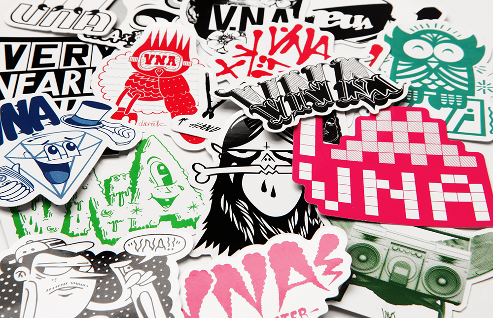 Vna limited edition artist sticker packs