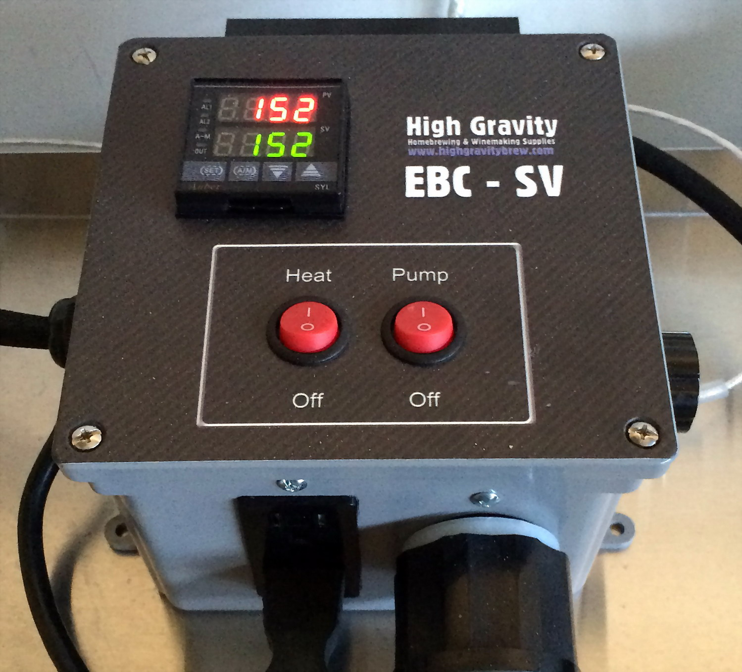 ebc sv 5a brewing controller home brewers using eurotherm 2208e temperature  at bayanpartner.co