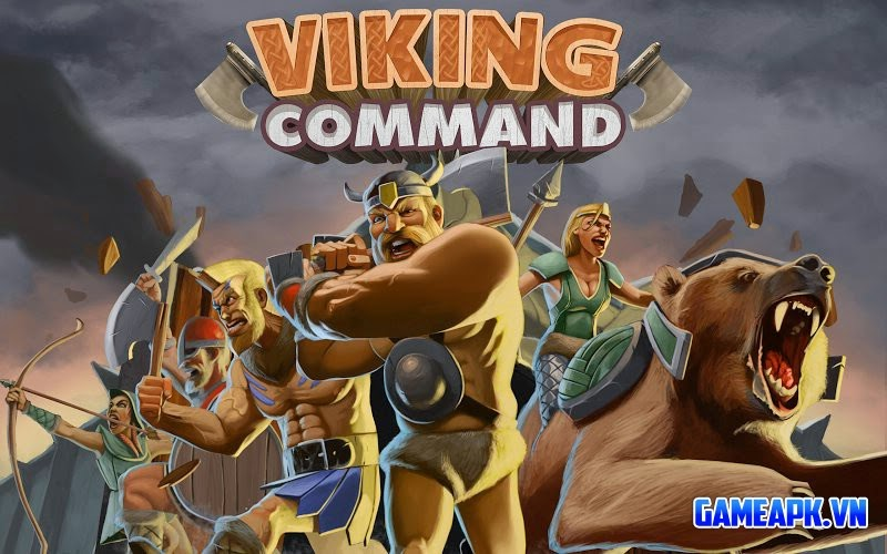 Viking Command v1.0 Mod (Unlimited Money) cho Android