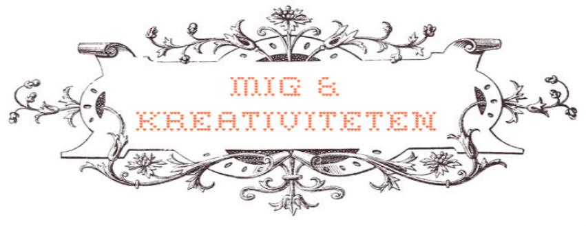 Mig og kreativiteten