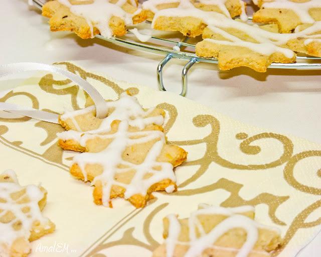 Ça titille les papilles !, Biscuits, Etoiles, Citron, Noel