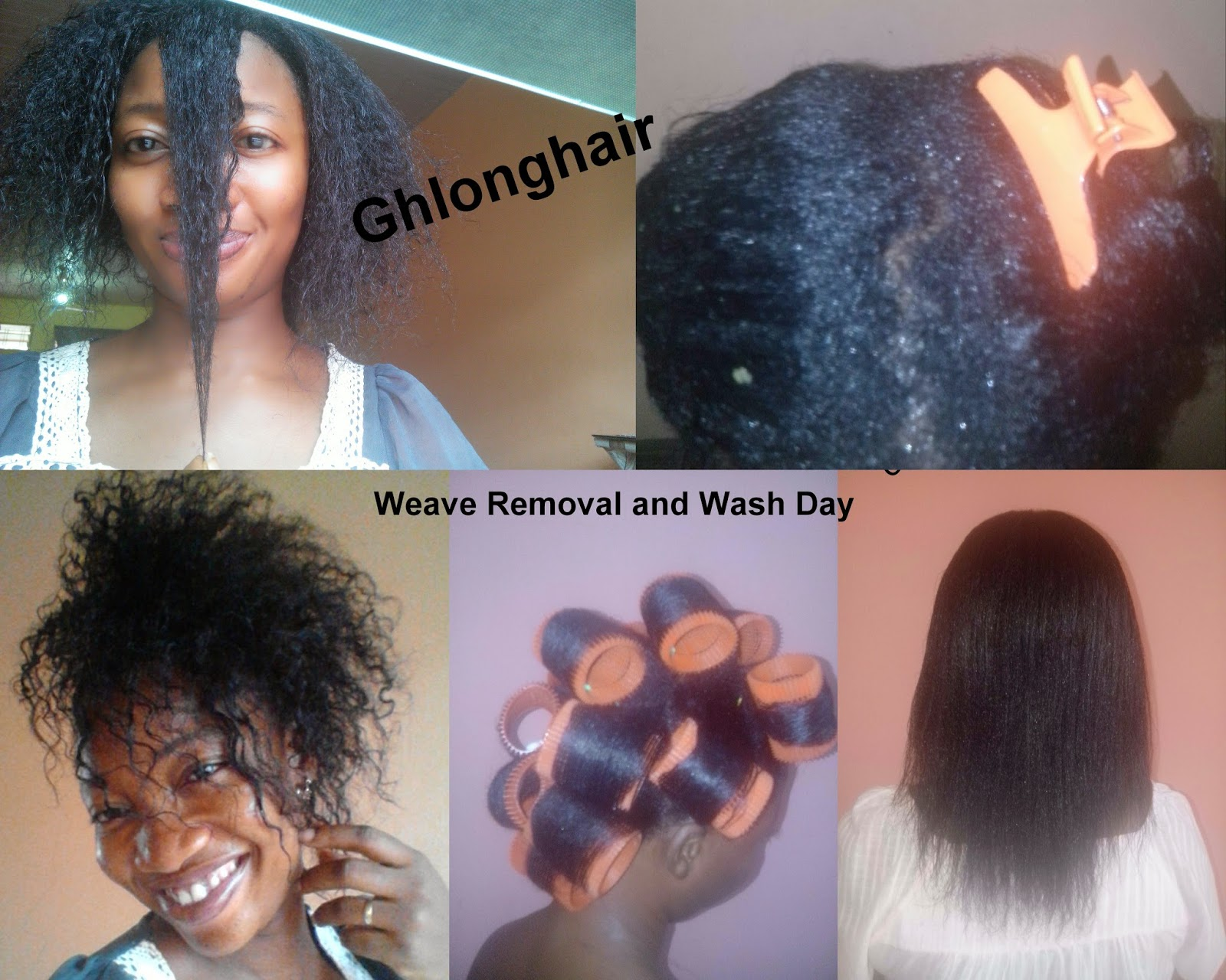 weave removal and detangling
