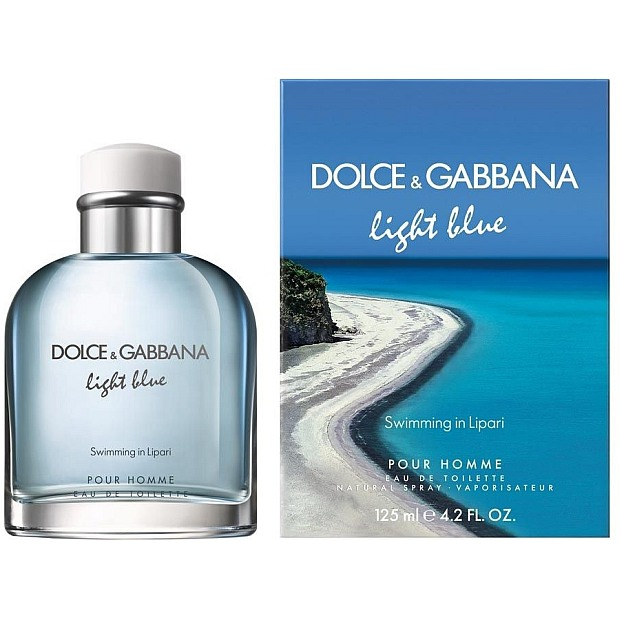 Dolce&Gabbana Light Blue Swimming in Lipari