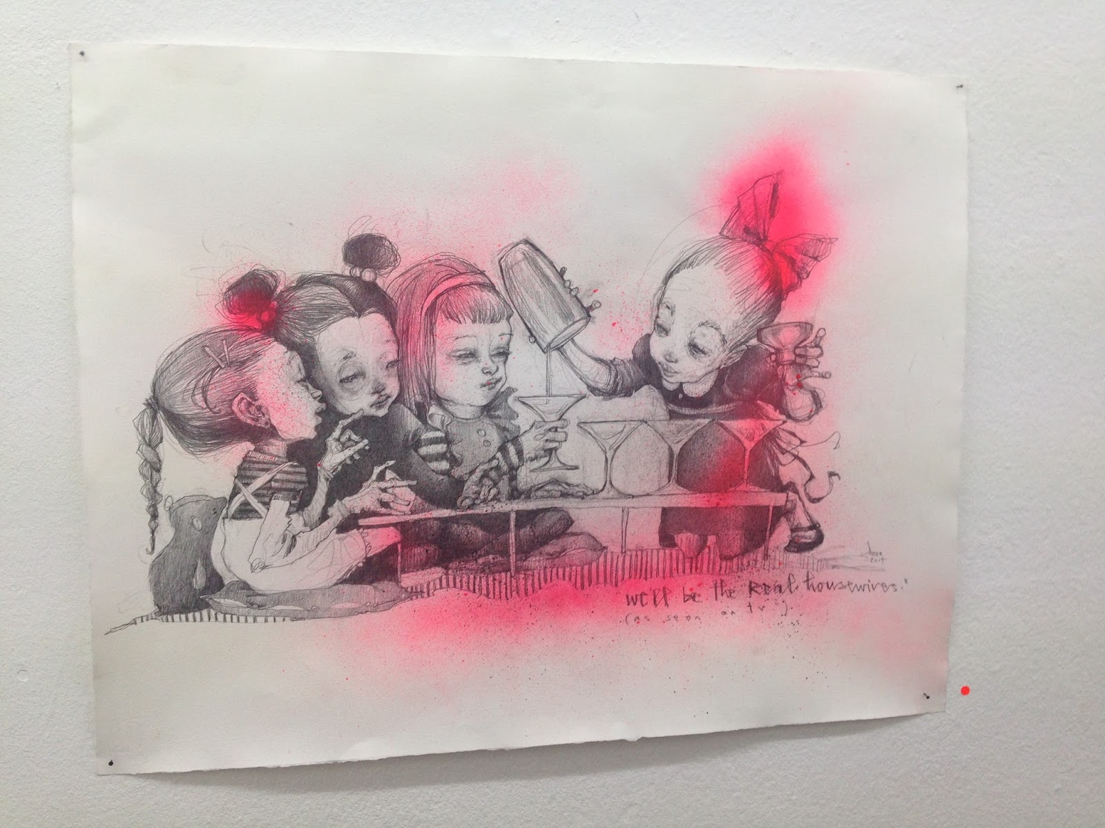 Atomlabor Blog - Flaw Circus – die aktuelle Ausstellung von Herakut in Köln