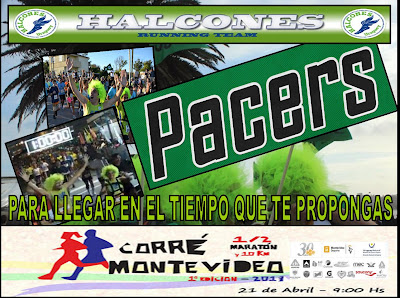 Halcones Pacers Corre Montevideo