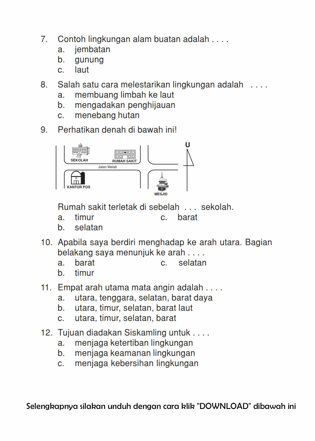 Download Soal Ips Uas Ganjil Kelas 3 Semester 1 2015 2016 Rief Awa Blog Download Kumpulan