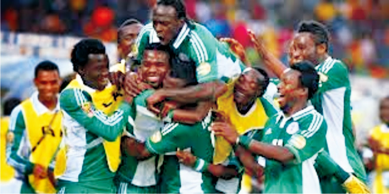 The Super Eagles plum job  BY KENNETH JUDE