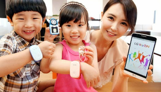 LG'den Çocuklar İçin Güvenlik Bilekliği