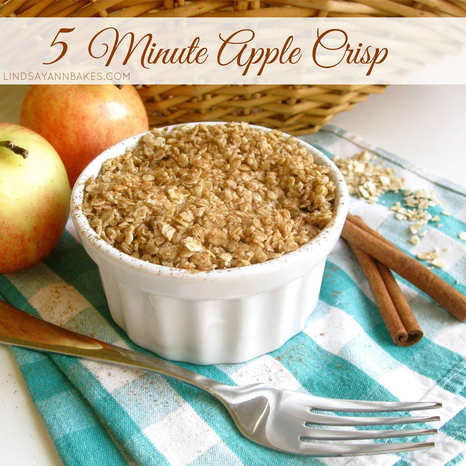 Video 5 Minute Microwave Apple Crisp In A Mug With Sugar Free