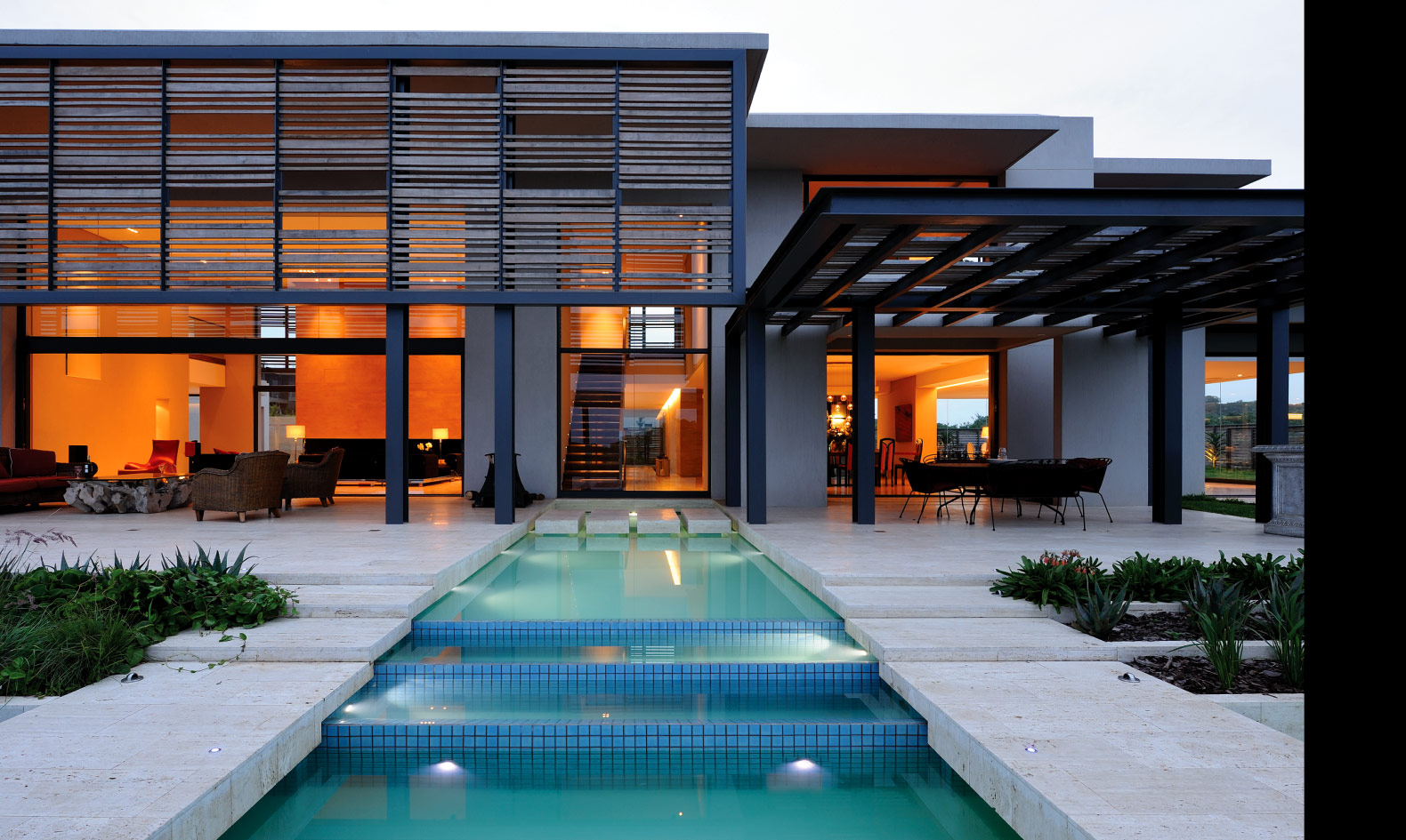 Loveisspeed hawaan estate by saota design for Piscinas minimalistas
