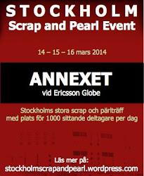 STOCKHOLM Scrap och pärl event 2014