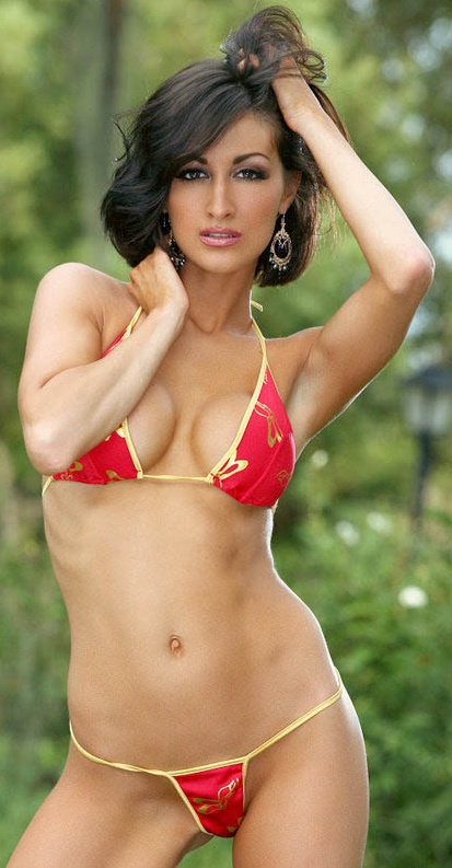 Hot Model Ashley Dorenzo in Bikini