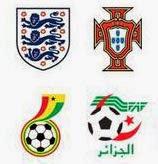 Logo Peserta Piala Dunia 2014 Lengkap