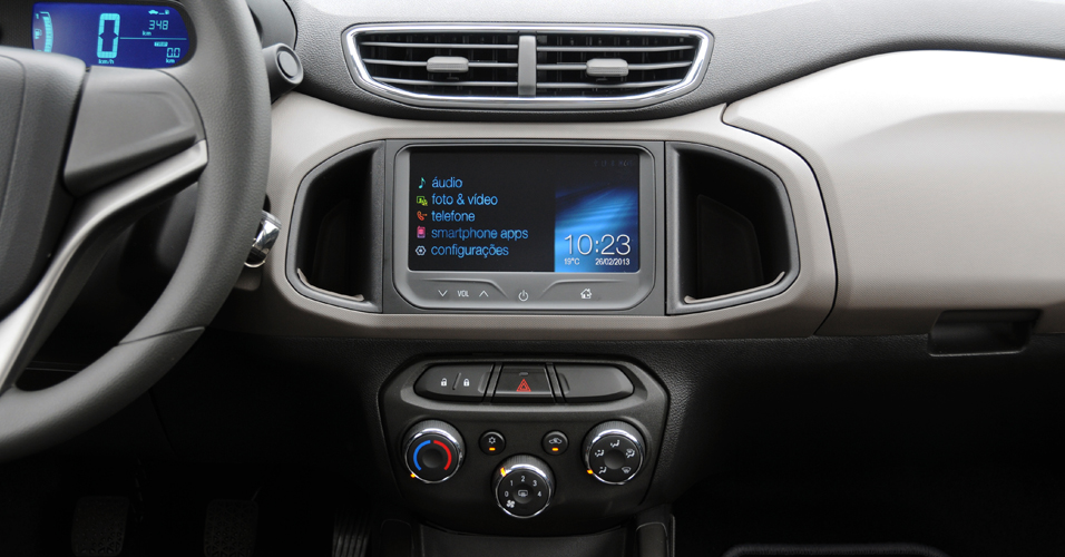 novo Chevrolet Prisma 2014 interior 1