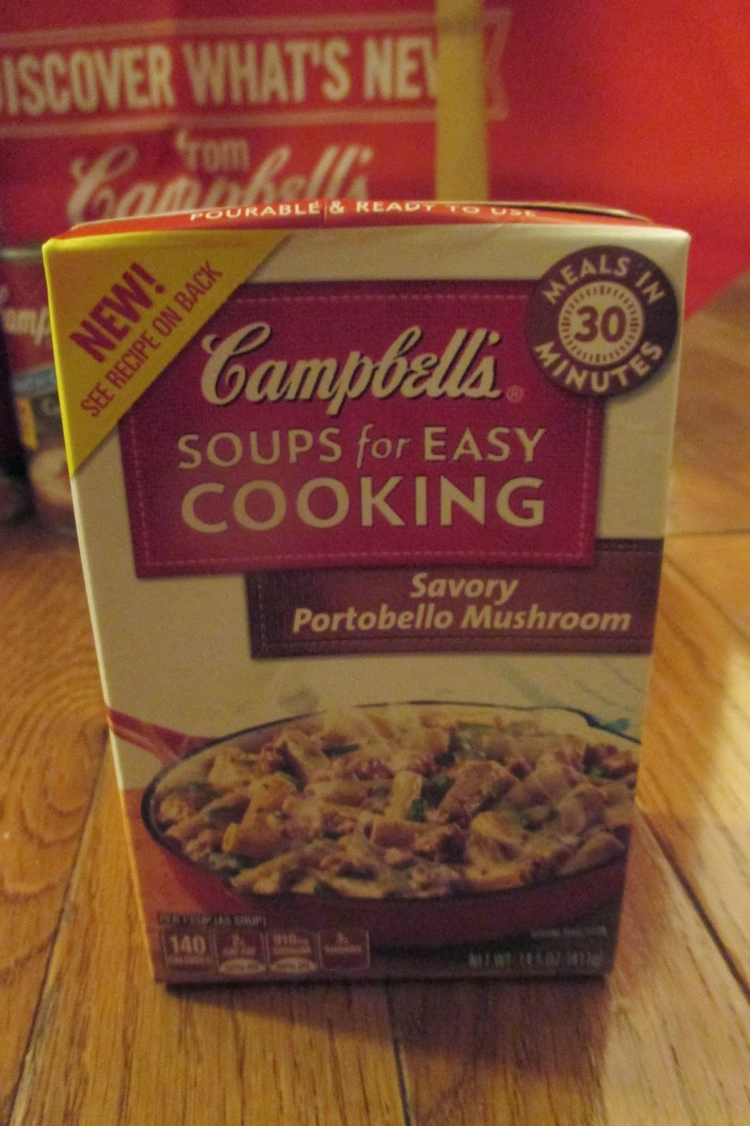 Campbell's Soups for Easy Cooking in the Savory Portobello Mushroom