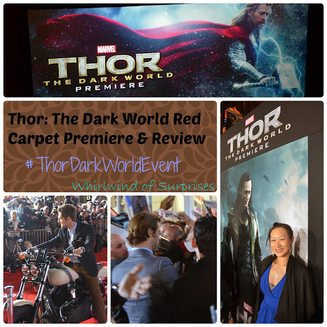 #ThorDarkWorldEvent Red Carpet Premiere, Movie review, marvel