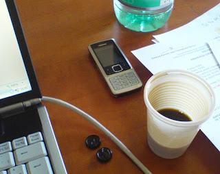 Un café au bureau