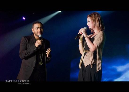 تامر حسني وبسمة - صور بسمة بوسيل وتامر حسني - تامر حسني وزوجتة بسمة - تامر وبسمة
