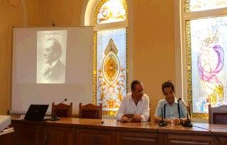 """Ν. Λυγερός """"Η οικουμενικότητα του Ελληνισμού και ο Καραθεοδωρή"""". Κομοτηνή, 13/9/13."""