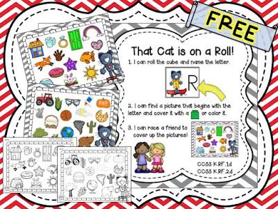 https://www.teacherspayteachers.com/Product/That-Cat-is-on-a-Roll-FREE-1983528
