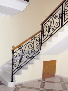 Hierros y forjas el llano - Barandas de forja para escaleras ...