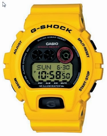 Casio G-Shock GA-100LG-8AJF Lightning Yellow 30th Anniversary Limited Edition Watch