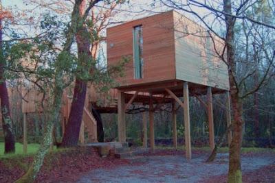 Caba as en galicia alojamientos en el bosque turismo galicia - Alojamientos en el bosque ...