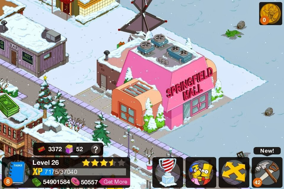 So The Simpsons Tapped Out v4 hack really works, as you can see in the