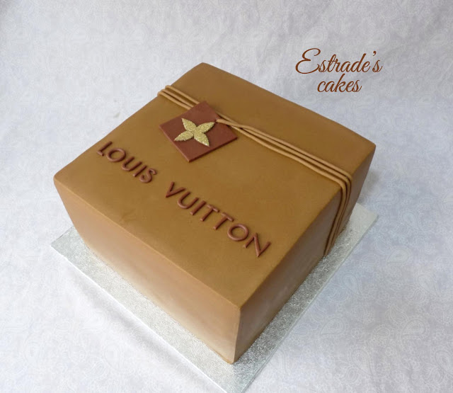 tarta Louis Vuitton 2