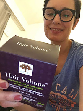 Hair Volume vähentää hiusten lähtöä