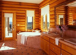 Rustic Bathrooms, Decoration and Design